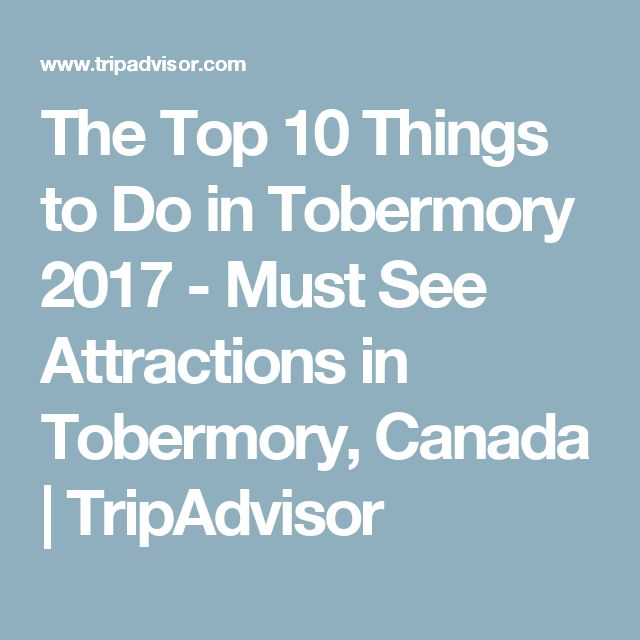 The Top 10 Things to Do in Tobermory 2017 - Must See Attractions in Tobermory, Canada | TripAdvisor