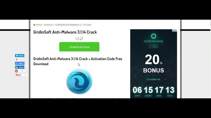 GridinSoft Anti-Malware 3.1.14 Crack + Activation Code Free Download