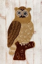 Tufted Owl Rug - Cade would love