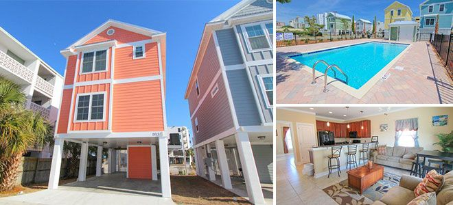 South Beach Cottages in Myrtle Beach, SC