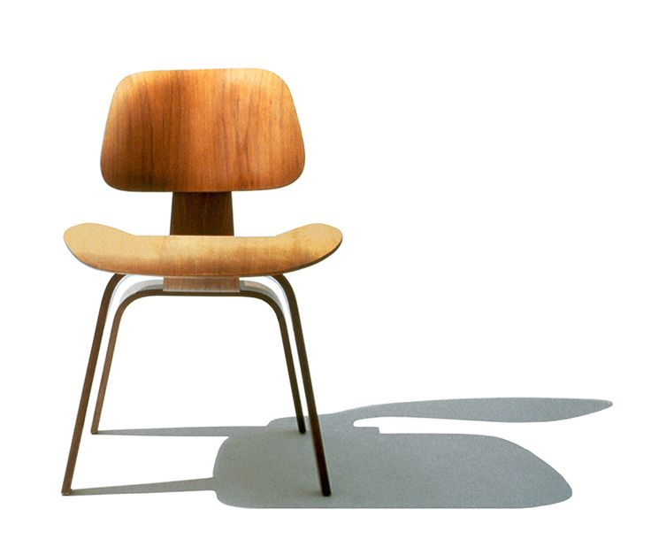 charles and ray eames u2022 eames molded plywood dining chair wood base