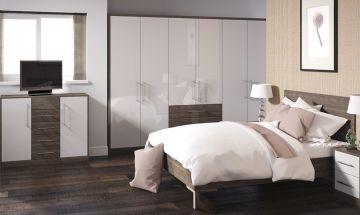 Ultragloss Cashmere Bedroom Doors