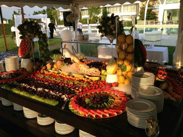 Decorazioni di Frutta a Buffet