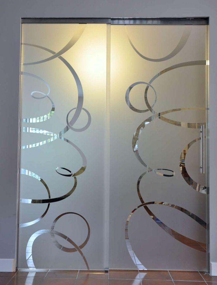 Porte Vetro Cristallo di Mazzoli Vetri d'Arte — Porte Vetro
