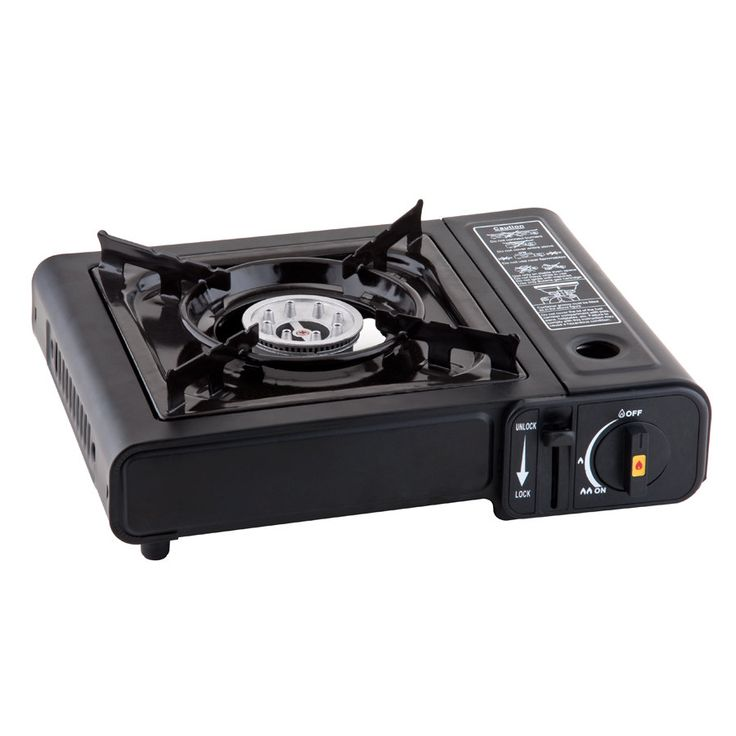 "1-Burner High Performance Butane Countertop Range / Portable Stove Width: 13 1/4""  Depth: 12 3/8""  Height: 4 3/8"""