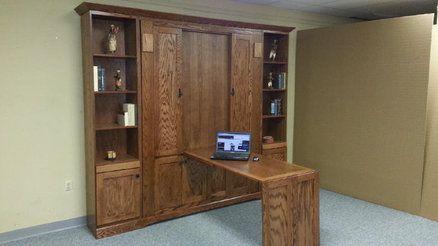 Craftsman Murphy Bed w/Hidden Desk