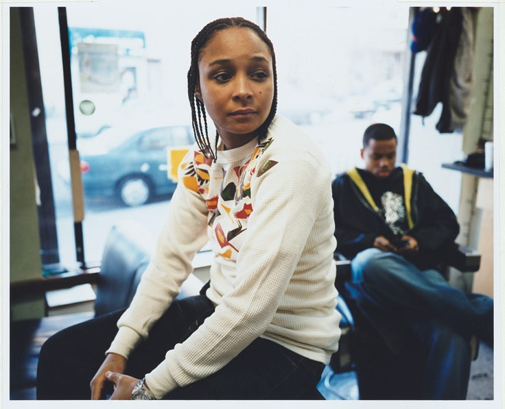 Felicia Pearson of The Wire - Giant by Illiana Rabun-Wood, 2008  I loved every character on The Wire, but Snoop was one of my favourites & the woman who played her is stunning!