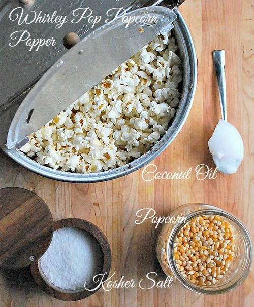 Whirly pop Popcorn maker