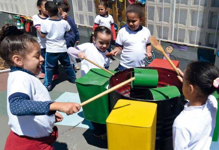 Parques Sonoros: leve mais brincadeira livre com música à escola