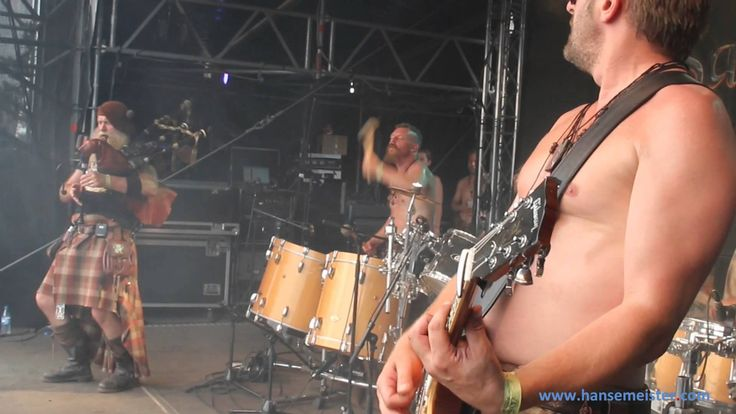Saor Patrol at Wacken 2014! With the Song Three wee Jigs