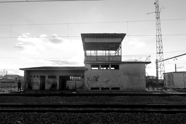 ESTACIÓN DE MONITOREO. Estación de Ferrocarriles, Parral.