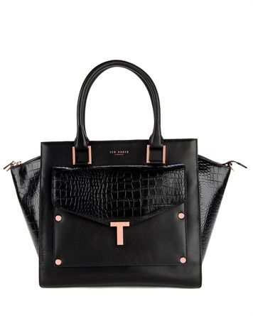 Ted Baker BAILLIE - T tote and clutch bag