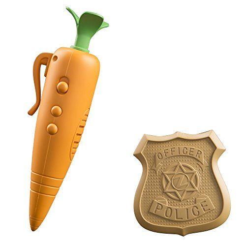 Disney Zootopia - Grabadora zanahoria y placa de policía Cómpralo aquí http://amzn.to/2aoLSM5 Mi hija tiene esta grabadora y le encanta ir por la casa grabando cosas de lo más variadas. Es una chulada.