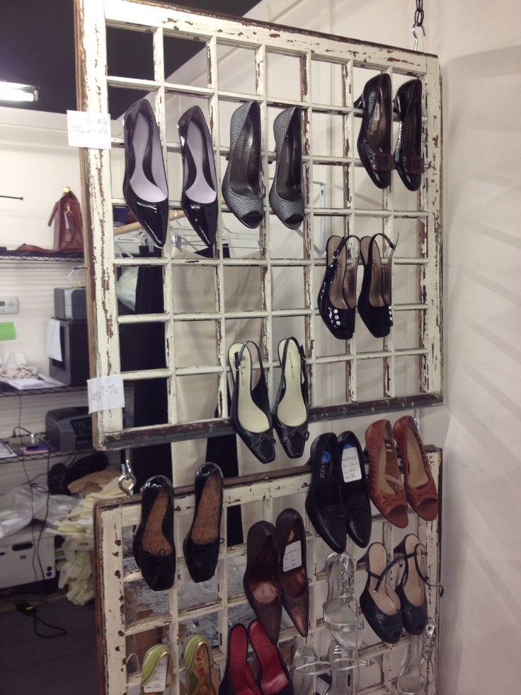 Best 25 shoe display ideas on pinterest shoe shelf diy for Retail store window display ideas