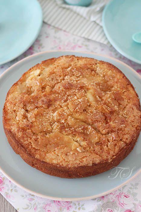 Gâteau aux pommes et sa croûte craquante