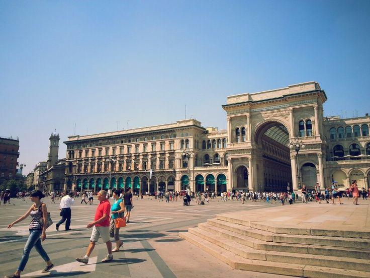Galleria Vittorio Emanuele , MİLANO