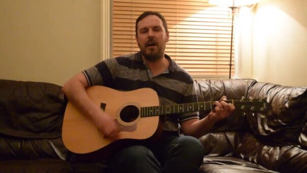 Part 3: When You';re in Love. by Adam Harkus. Live from Acoustic Corner.