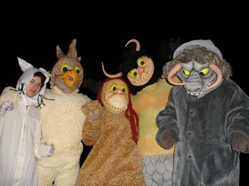EPIC Where the Wild Things Are (and Max!) handmade costumes - via CRAFTSTER CRAFT CHALLENGES