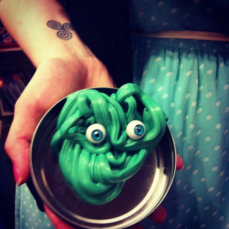Our store creature....made with Crazy Aaron's Creature Putty!