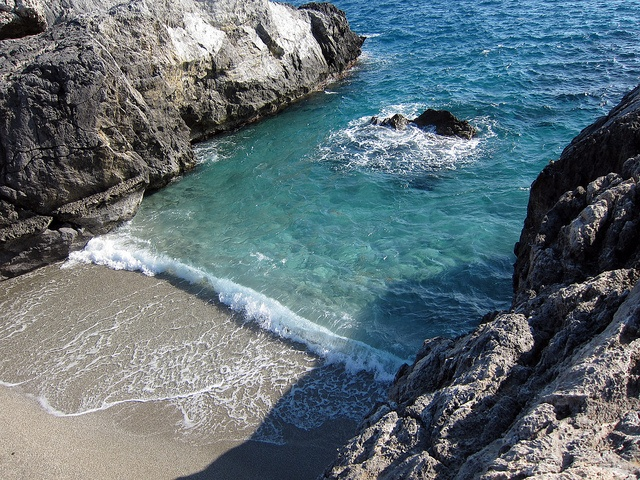 One Rock Beach, Plakias Crete. A bit of a challenge to get there, but definitely worth it!