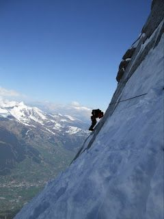.: Mountain Circles Team on the Eiger North Face - 1938 Route