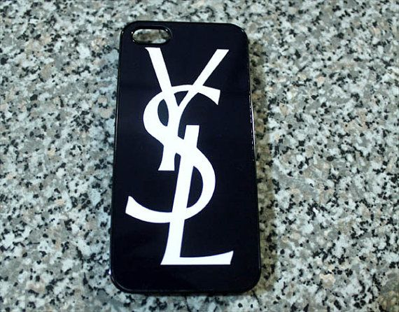 YSL phone case hard iphone5 or iphone4 Samsung by CaseShoppe, $15.99