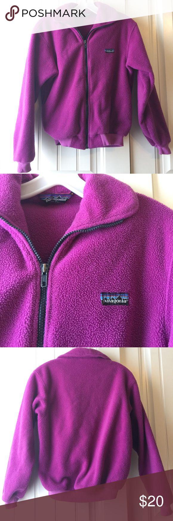 Girls Patagonia Fleece Jacket Size 9/10 Patagonia Jackets & Coats