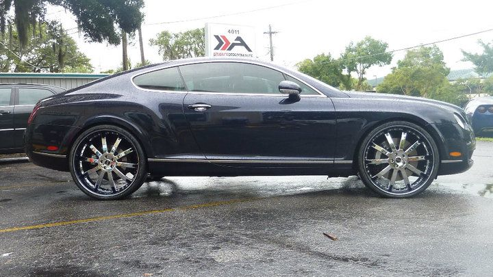 Bentley continental gt on 24s side view papa smurph cars bentley continental gt on 24s side view papa smurph cars pinterest bentley continental gt bentley continental and luxury cars sciox Images