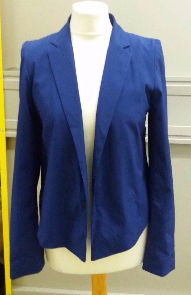Dorothy Perkins Ladies Open Front Blazer Jacket Size 8 UK