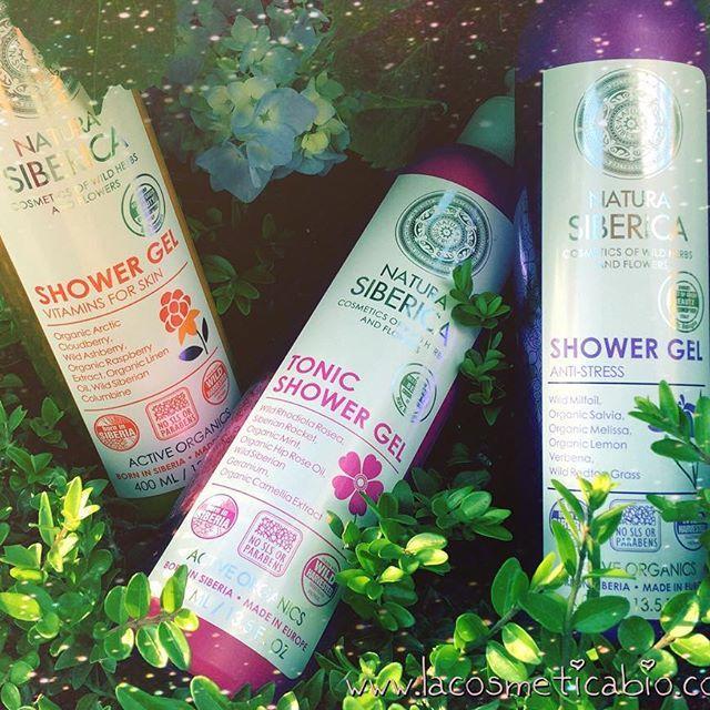 🌸🚿 It's shower time! 🚿🌸 #buongiorno #naturasiberica #lacosmeticabio #borninsiberia #activeorganics #happyjuly