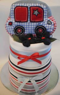 Toot toot nappy cake - Adelaide baby gift