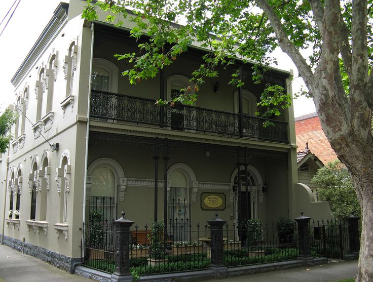 victorian lace balcony - Melbourne
