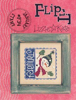 This Lizzie Kate model is cross stitched with either DMC, Anchor or Gentle Art Sampler Threads (Black Crow, Buckeye Scarlet, Burnt Orange, Cornflower, Cranberry, Midnight, Oatmeal, Pine and Gold Leaf). Lizzie Kate brings us another fantastic small cross stitch pattern.