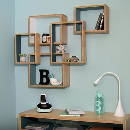 homedzine diy projects these shadowbox storage shelves are made using pine plywood