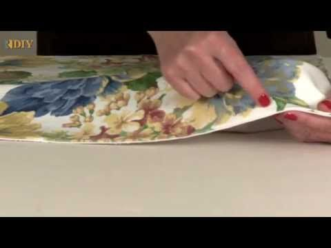 DIY - How to make a False Roman Shade - YouTube