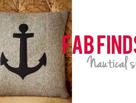 Fab finds nautical style nautical style