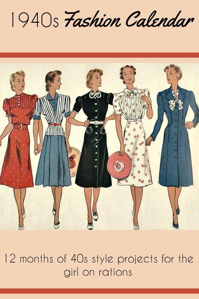 diy 1940s fashion
