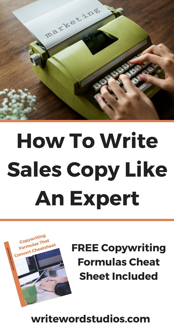 How To Write Sales Copy Like An Expert Learn How To Write The Right