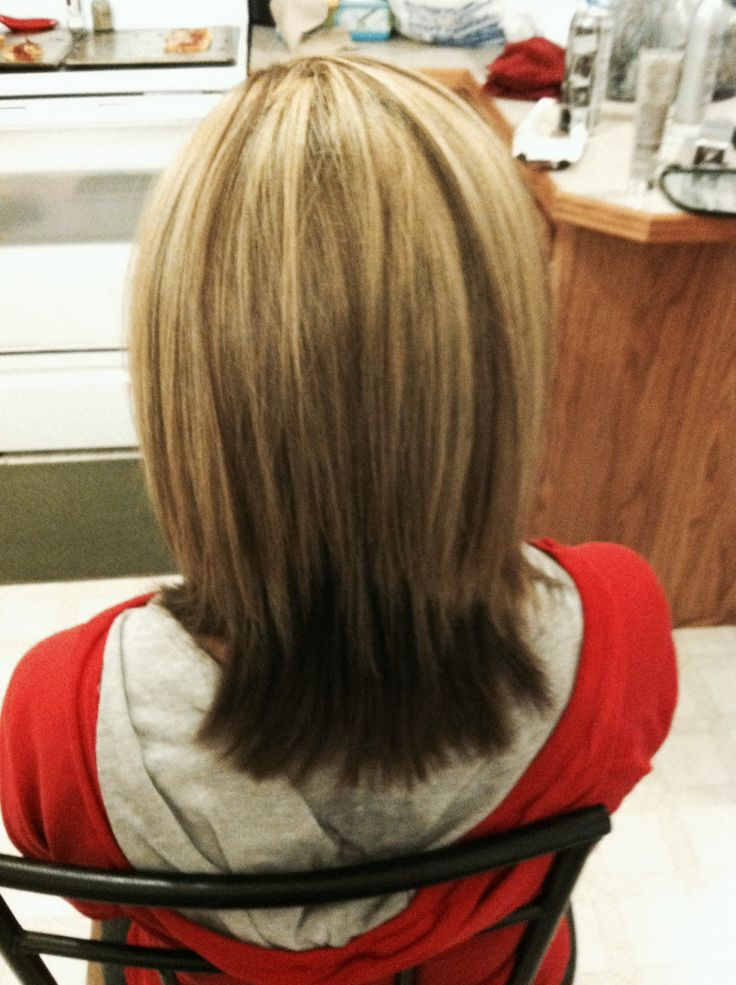 Blonde Highlights With Dark Undertone Hair I Ve Done