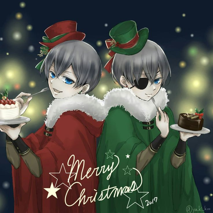 Black butler, Kuroshitsuji, Phantomhive twins