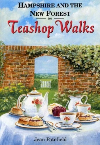 'Hampshire and the New Forest Teashop walks' (1998) by English author Jean Patefield. One in a series of Teashop Walks around England published by Countryside Books.