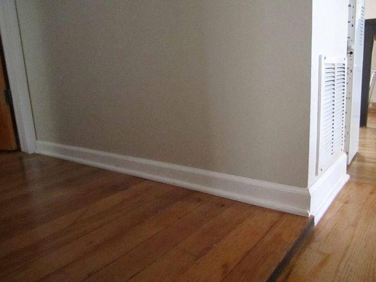 55 best images about paint colors on pinterest paint for Laminate floor trim