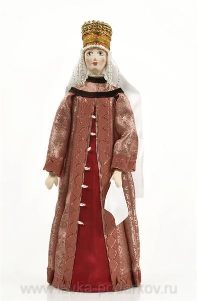 Боярский костюм 15 века