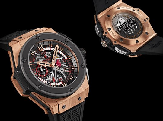 Hublot x Miami Heat King Power Chronograph: Hublot Mens, Hublot X Miami, Luxury Watches, Watch Collector, Men Watches, Mens Watches 2014
