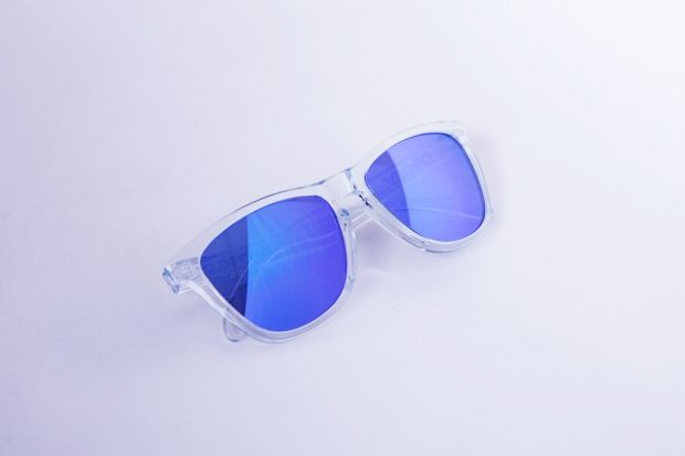 Oakley Frogskin Sunglasses Polished Clear/Violet | Hypebeast