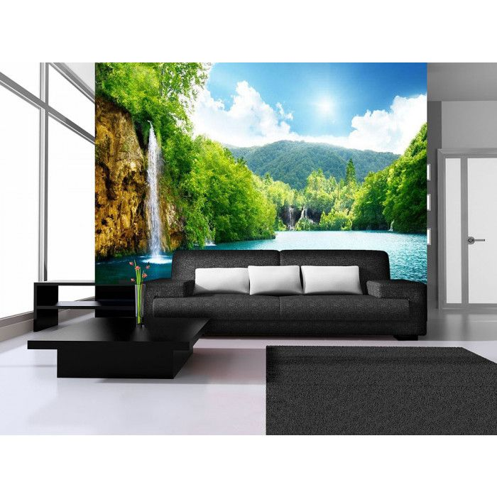 excellent elegant poster mural qualit tenter par un poster. Black Bedroom Furniture Sets. Home Design Ideas