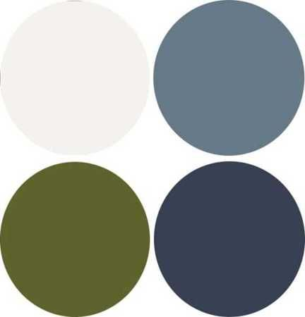 2013 dark blue and green colors with gray color scheme