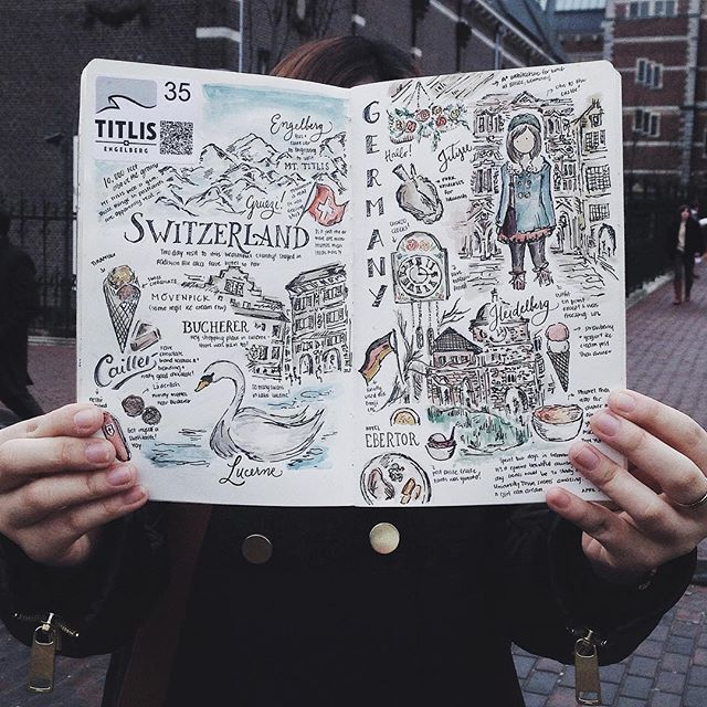 """""""I'll be sharing tips on how to properly layout your travel spreads this coming Sunday at our Moment Collecting workshop ✏️ - Limited slots only! For inquiries, email mikkawee@gmail.com with the subject MomentCollectingatHeima_<YourName> ✌️"""" Photo taken by @abbeysy on Instagram, pinned via the InstaPin iOS App! http://www.instapinapp.com (09/21/2015)"""