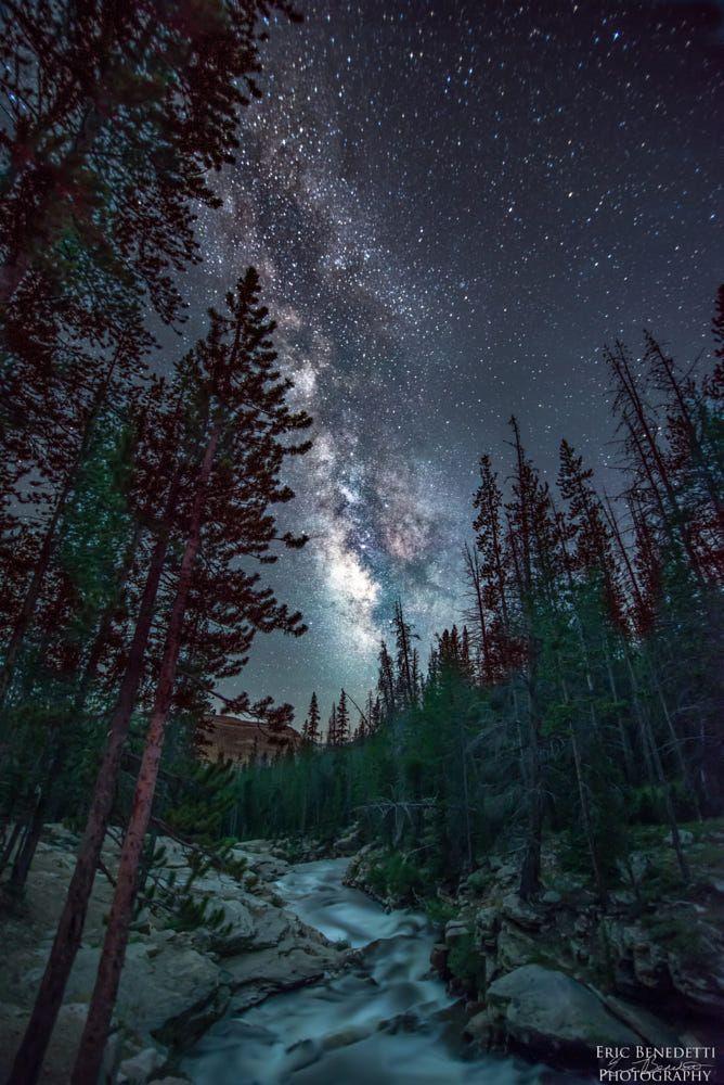 The Milky River Night Landscape Night Sky Photography Landscape Photography