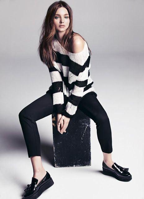 Miranda Kerr para Mango otoño-invierno 2014 www.monsieurbabette.com